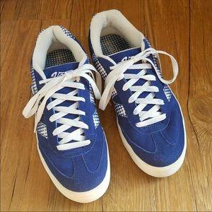 6c75148628 Vans Shoes - New Vans retro blue platform sneakers sz 8.5- rare